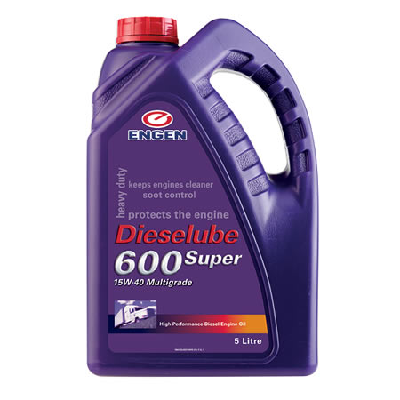 Buy Engen Dieselube 600 Super online from Oil onTap (PTY) Ltd