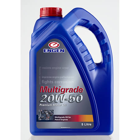 Buy ENGEN Multigrade 20W-50 online from Oil on Tap (PTY) Ltd
