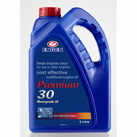 Buy ENGEN SAE Premium 30 online from Oil on Tap (PTY) Ltd